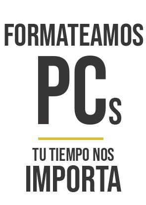 Formateo de PC en Zona Sur Temperley, Lomas de Zamora, Banfield, Lanus